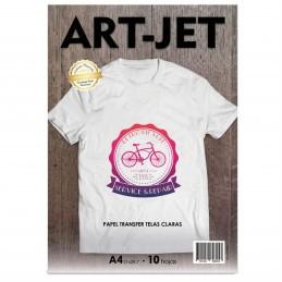 Papel Transfer Prendas Claras A4 x10 hojas - Art Jet