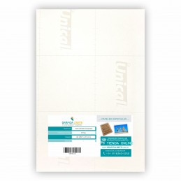 Vinilo Sublimable Transparente Autoadhesivo Brillante A4 x10 u. Unical