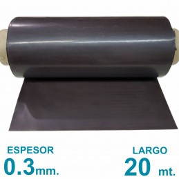 Rollo imán SIN Autoadhesivo 20 mt. x 31 cm. Bulto Cerrado - Grosor 0.3mm