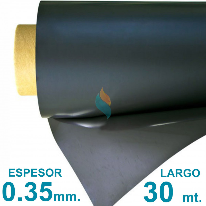 Rollo imán SIN Autoadhesivo 30 mt. x 31 cm. Bulto Cerrado - Grosor 0.35mm