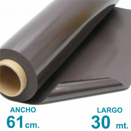 Rollo imán SIN Autoadhesivo 30 mt. x 61 cm. Rollo Cerrado - Grosor 0.35mm - Premium