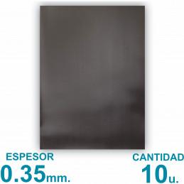 Plancha Imán Sin Autoadhesivo A4 (21x29.7cm) x10 uni. - Grosor 0.35mm - Premium