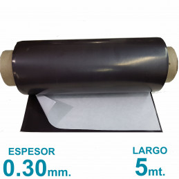 Rollo imán Autoadhesivo 5 mt. x 31 cm. - Grosor 0.3mm