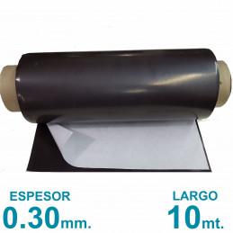 Rollo imán Autoadhesivo 10 mt. x 31 cm. - Grosor 0.3mm
