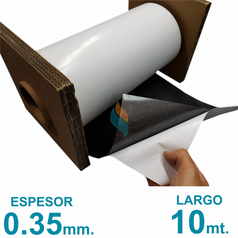 Rollo imán Autoadhesivo 10 mt. x 31 cm. - Grosor 0.35mm - Premium
