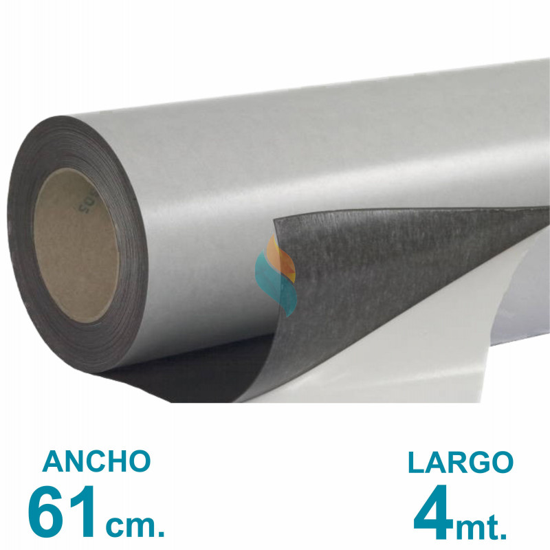 Rollo imán Autoadhesivo 4 mt. x 61 cm. - Grosor 0.35mm - Premium