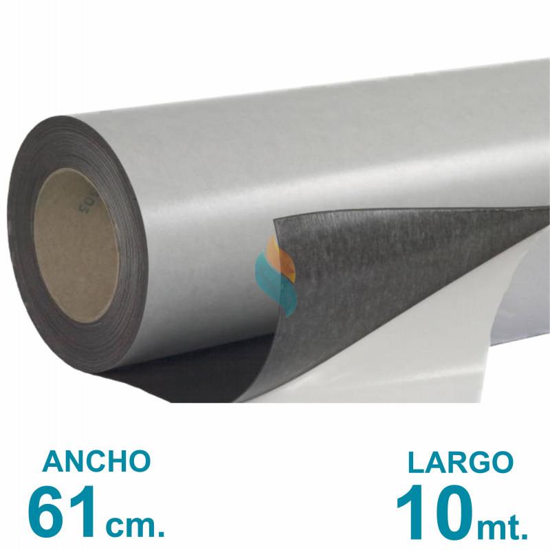 Rollo imán Autoadhesivo 10 mt. x 61 cm. - Grosor 0.35mm - Premium