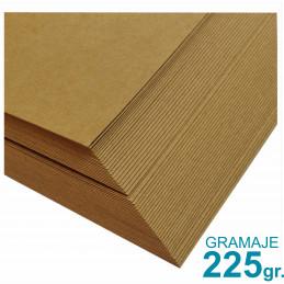 Papel Kraft Misionero 120 x 85cm. 225 gr. Madera Marron