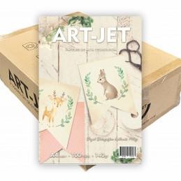 Papel Fotográfico A4 140 gr. Brillante x 2000 hojas - Art Jet PRECIO MAYORISTA