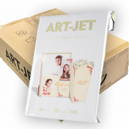 Papel Fotográfico A4 180 gr. Brillante x 1000 hojas - Art Jet PRECIO MAYORISTA