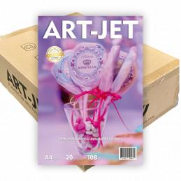 Papel Fotográfico Autoadhesivo A4 108 gr. Mate x 1000 hojas - Art Jet PRECIO MAYORISTA