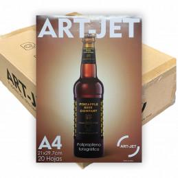 Vinilo Blanco Fotográfico Autoadhesivo A4 130 gr. x 1000 hojas - Art Jet PRECIO MAYORISTA