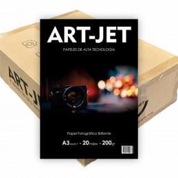Papel Fotográfico A3 200 gr. Brillante x 500 hojas - Art Jet PRECIO MAYORISTA