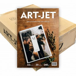 Papel Fotográfico A3 240 gr. Brillante, Doble Faz, x 1000 hojas - Art Jet PRECIO MAYORISTA