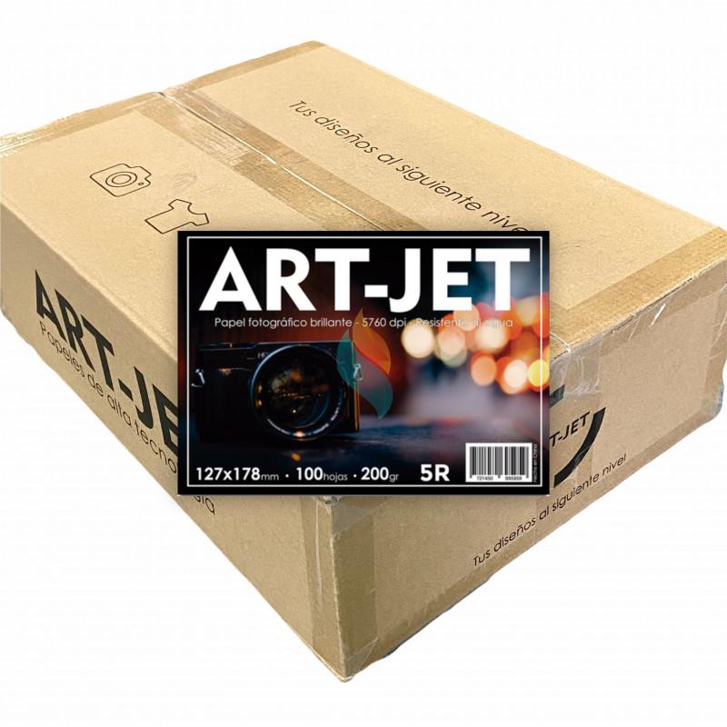 Papel Fotográfico 13x18cm 200 gr. Brillante x 2500 hojas - Art Jet PRECIO MAYORISTA