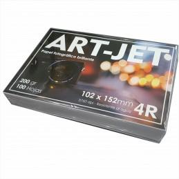 Papel Fotográfico 10x15cm 200 gr. Brillante x 100 hojas - Art Jet