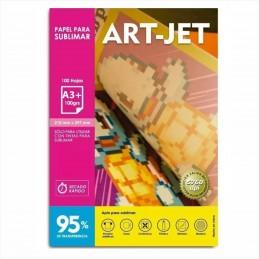Papel de Sublimación Especifico A3+  x 100 hjs. 95% transferencia - ART JET