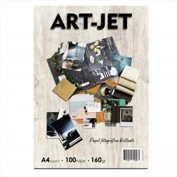 Papel Fotográfico A4 160 gr. Brillante x 100 hojas - Art Jet