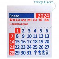 Calendarios Con Troquelado