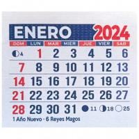 Calendarios Mingón Mensual Sin Troquelado - Grafica Limite